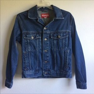 Wrangler | Jean Trucker Jacket Dark Wash
